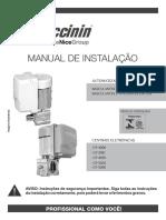 PECCININ Manual Portao Basculante