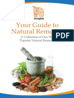 Guide to Natural Remedies