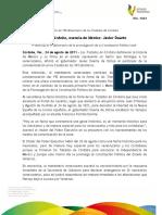 24 08 2011 - El gobernador Javier Duarte de Ochoa participa en la Ofrenda Floral y Guardia de Honor en el marco del 190 Aniversario de la Firma de los Tratados de Córdoba