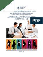 Administração de Recursos Humanos i e II - Apostila