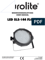 Eurolite LED SLS 144 User Guide