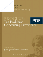 Proclus - Ten Problems Concerning Providence