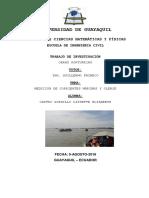 Medicion de Corrientes y Oleaje Posorja
