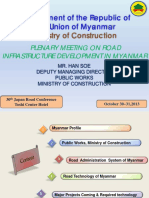 Myanmar Road Guidelines