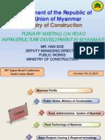 Myanmar Road Guidelines