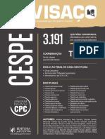CESPE - Tomo 1 - 3.191 Questões - 2016