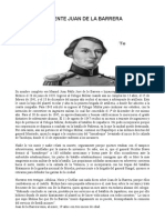 Teniente Juan de La Barrera