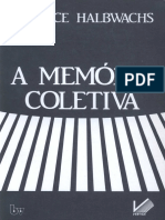 A Memória Coletiva - Maurice Halbwachs.pdf