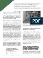 Crecimiento Económico y Desarrollo Sostenible y La Exportacion