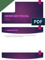 Derecho Fiscal Introduccion  - Primera Unidad
