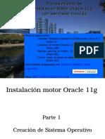 Instalacion Motor Oracle 11g