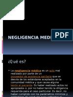 Negligencia Medica Temas Extras