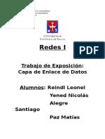 Redes I-Trabajo Exposicion