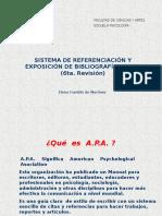 Sistema APA 6ta revisión