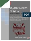 1. Abastecimiento de Agua - Pedro Rodríguez Completo