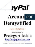 PayPal Account Demystified UAE Version