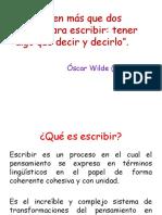 Proceso Escritura de Textos Intención Etc..