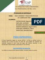 Peso Especifico y Peso Unitario de Un Agregado (1)