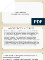 Architects Act 1972