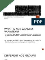 Age-graded variation.pptx