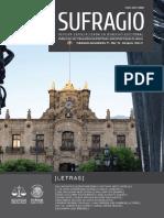 Sufragio. Revista Especializada en Derecho Electoral. Número 8