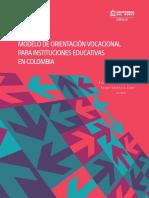 Modelo de Orientación Vocacional Para Instituciones Educativas