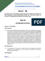 RAC 36 - Estandares de Ruido