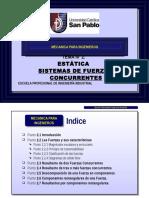 Tema 02 Sistemas de Fuerzas Concurrentes
