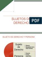 2. Sujeto de Derecho y Persona (1)