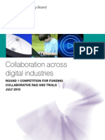 Collaboration across digital industries