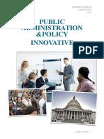 Public Admin Innovative