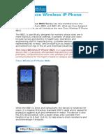 New-Cisco Wireless IP Phone 8821