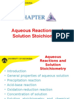 2012 Kimdas Aqueous Reactions and Solution Stoichiometry