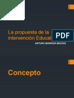 Proyectos de Intervención Educativa