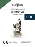 Multispot 80 Inverter Spot Weld