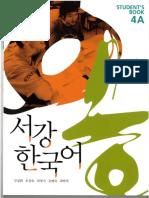 Sogang Korean 4A Student Book