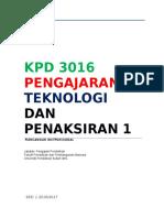 Rancangan Instruksional   KPD 3016 sem1 2016  2017 (1)