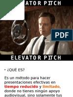 Elevator Pitch (1)