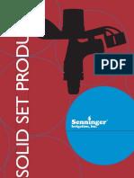 Catalogo Senninger 2009