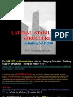 lateralstabilityofbuildingstructures includingSAP2000