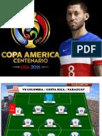 Análisis Estados Unidos Copa América Centenario 2016