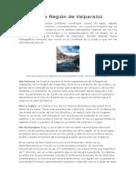 Hidrografía Región de Valparaíso.docx