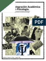Integracion Academica en Psicologia V4N11