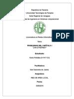 Taller de Ral 1 (Problemas Del Capitulo I LAN Ethernet)(Kenis Peñalba 9-747-733)