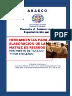Herramientas Para La Elaboracion de Matriz de Riesgos Por Puesto y Por Empleado 1ra_ Temporada