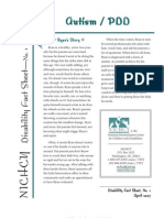 Autism PDD Fact Sheet