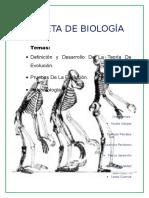 Biologia Evolución