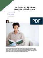 5 Libros Que Sí o Sí Debes Leer Si Te Interesa La Política Para Opinar Con Fundamentos