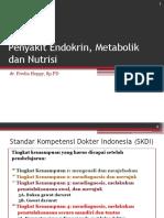 Penyakit Endokrin, Metabolik Dan Nutrisi