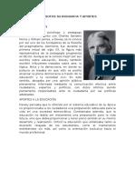 Filosofos Su Biografia y Aportes